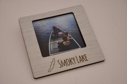 Custom photo frame