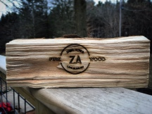 Why did we engrave firewood? Because we can.