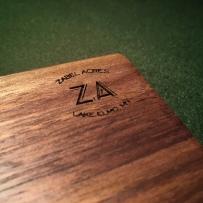 Walnut Cutting Board Detail